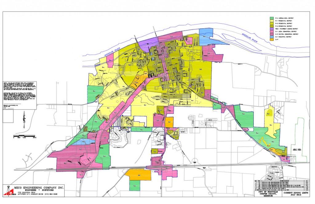 Zone map 11x17